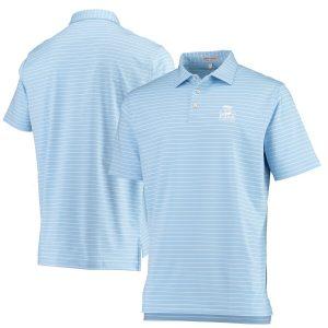 2020 PGA Championship Peter Millar Halifax Stripe Polo – Light Blue/White