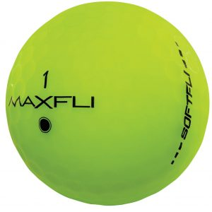 Maxfli SoftFli Matte Golf Balls – Green